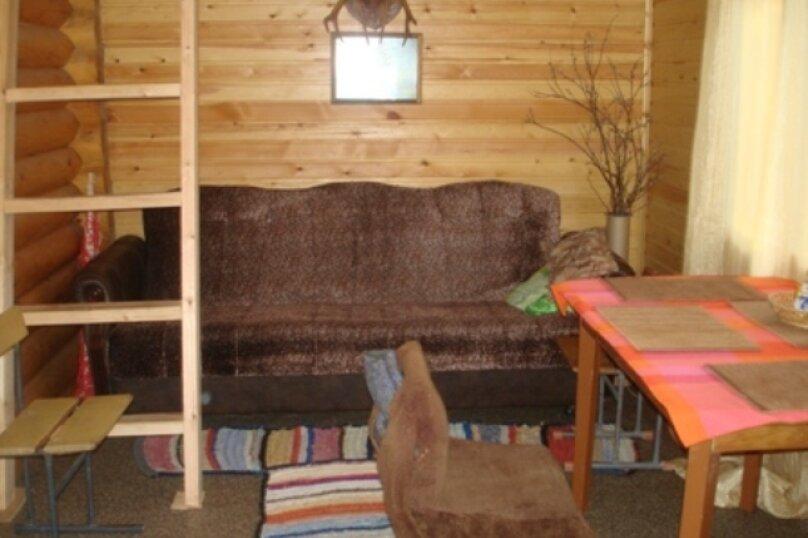 Дом на берегу лесного озера, п. Муезерский, 40 кв.м. на 5 человек, 3 спальни, Октябрьская, 37, Муезерский - Фотография 19