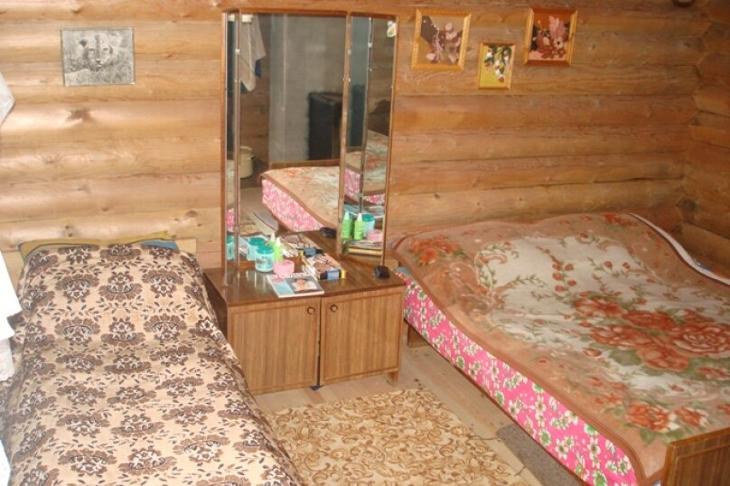 Дом на берегу лесного озера, п. Муезерский, 40 кв.м. на 5 человек, 3 спальни, Октябрьская, 37, Муезерский - Фотография 21
