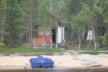 Дом на берегу лесного озера, п. Муезерский, 40 кв.м. на 8 человек, 3 спальни, Октябрьская, Муезерский - Фотография 4
