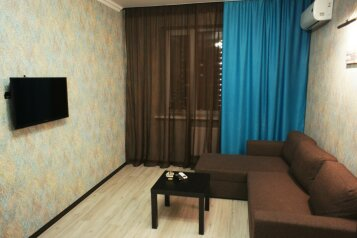 1-комн. квартира, 40 кв.м. на 4 человека, Восточно-Кругликовская улица, Краснодар - Фотография 2