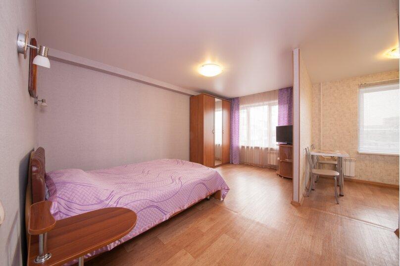 1-комн. квартира, 34 кв.м. на 2 человека, улица Республики, 43, Красноярск - Фотография 1