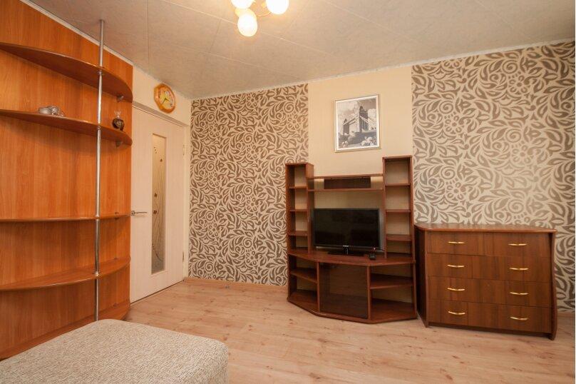 1-комн. квартира, 37 кв.м. на 3 человека, Бебеля, 57, Красноярск - Фотография 4