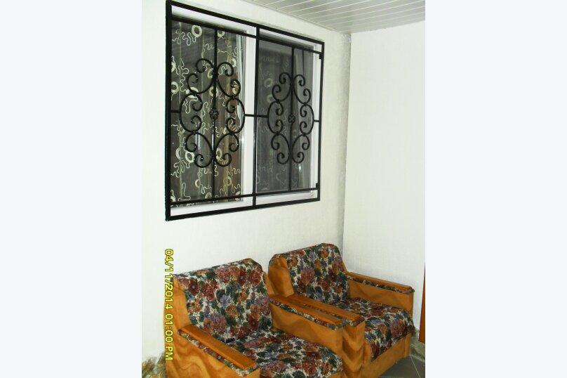 Дачный домик, 25 кв.м. на 5 человек, 2 спальни, Морская, 6, поселок Орджоникидзе, Феодосия - Фотография 8