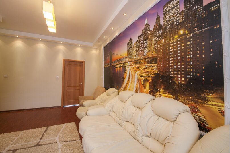 2-комн. квартира, 54 кв.м. на 4 человека, Красная площадь, 1, Красноярск - Фотография 2