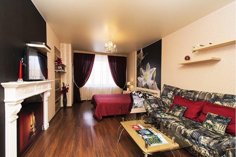 1-комн. квартира, 52 кв.м. на 4 человека, Ключевская улица, 15, Екатеринбург - Фотография 5