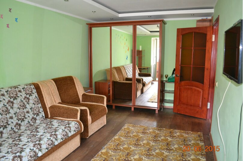1-комн. квартира, 36 кв.м. на 3 человека, улица Дёмышева, 100, Евпатория - Фотография 2