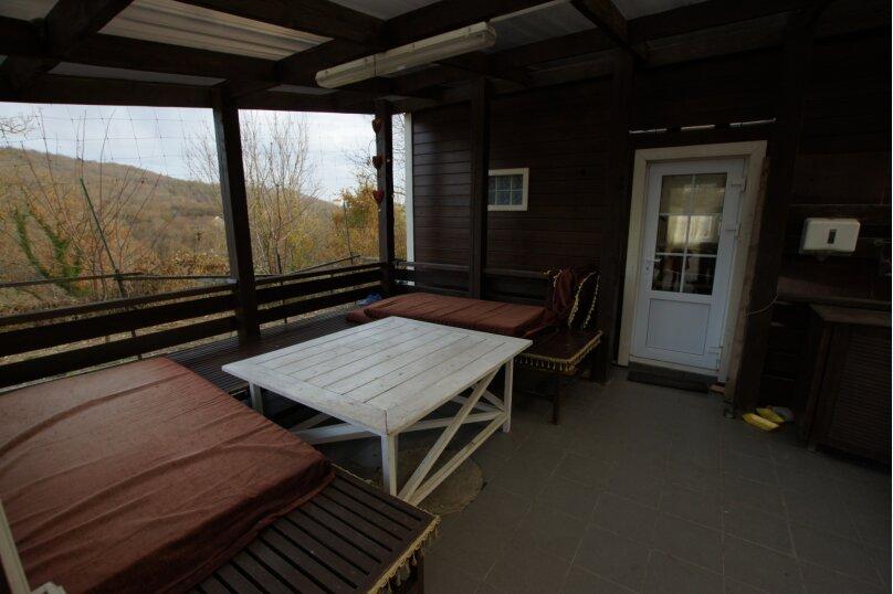"""Бунгало """"Хижина дяди Сема"""", 42 кв.м. на 4 человека, 2 спальни, зеленая, 23 б, Архипо-Осиповка - Фотография 5"""