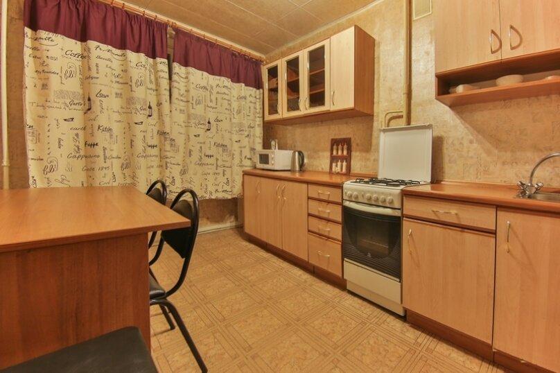 1-комн. квартира, 40 кв.м. на 4 человека, улица Трёхгорный Вал, 1, метро Улица 1905 года, Москва - Фотография 10