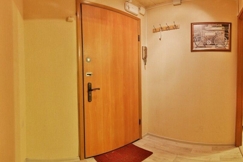 1-комн. квартира, 40 кв.м. на 4 человека, улица Трёхгорный Вал, 1, метро Улица 1905 года, Москва - Фотография 12