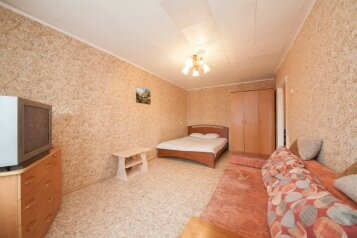 1-комн. квартира, 34 кв.м. на 4 человека, улица Декабристов, 5, Красноярск - Фотография 2
