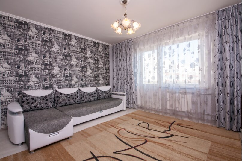 2-комн. квартира, 75 кв.м. на 4 человека, улица Батурина, 19, Красноярск - Фотография 7