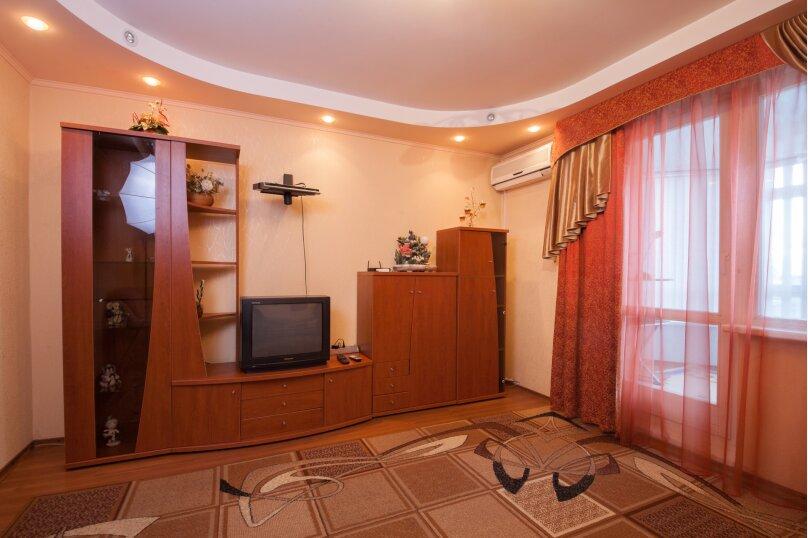 2-комн. квартира, 56 кв.м. на 4 человека, Взлётная улица, 24, Красноярск - Фотография 3