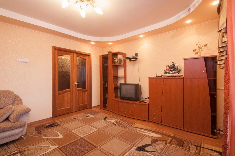 2-комн. квартира, 56 кв.м. на 4 человека, Взлётная улица, 24, Красноярск - Фотография 4