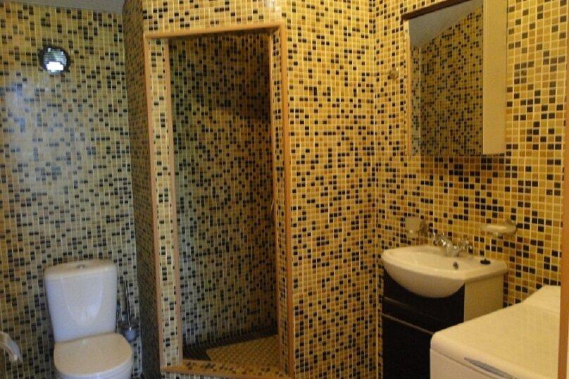Номер-студия в частном коттедже, под ключ, на 2-3 чел., 36 кв.м. на 2 человека, 1 спальня, Таврическая, 40, Алушта - Фотография 4