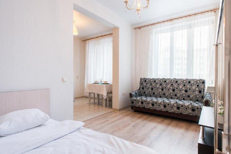 1-комн. квартира, 39 кв.м. на 4 человека, проспект Луначарского, 11к1, Санкт-Петербург - Фотография 1