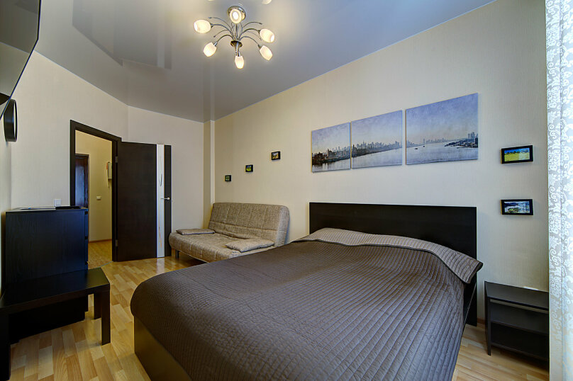 1-комн. квартира, 35 кв.м. на 4 человека, Коломяжский проспект, 15к1, Санкт-Петербург - Фотография 1