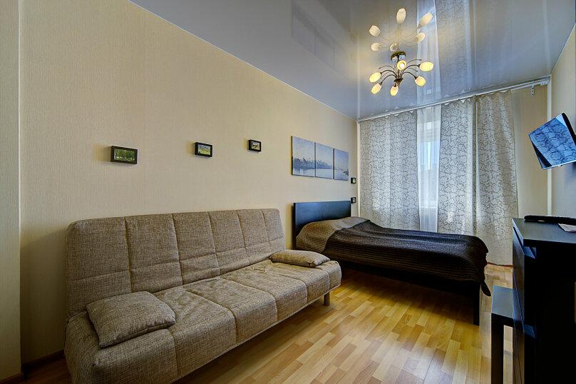 1-комн. квартира, 35 кв.м. на 4 человека, Коломяжский проспект, 15к1, Санкт-Петербург - Фотография 3