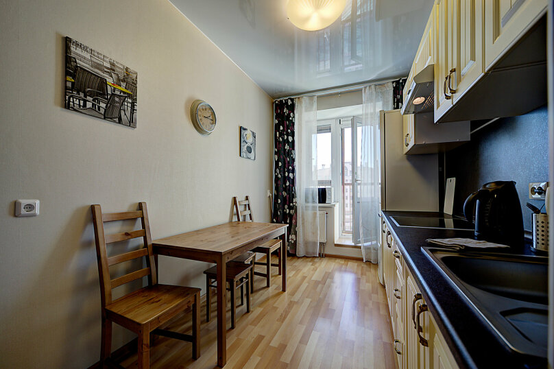 1-комн. квартира, 35 кв.м. на 4 человека, Коломяжский проспект, 15к1, Санкт-Петербург - Фотография 8