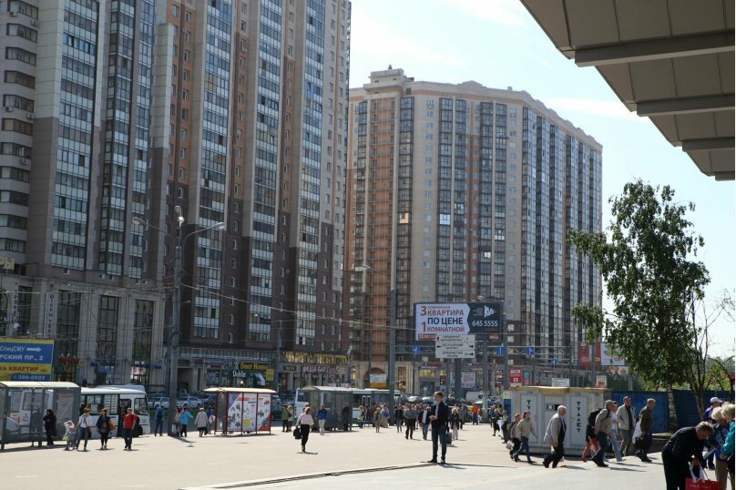 1-комн. квартира, 35 кв.м. на 4 человека, Коломяжский проспект, 15к1, Санкт-Петербург - Фотография 22