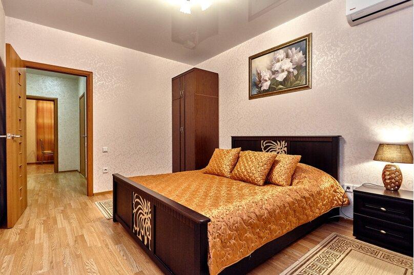 2-комн. квартира, 64 кв.м. на 3 человека, улица Соколова, 86/1, Краснодар - Фотография 2