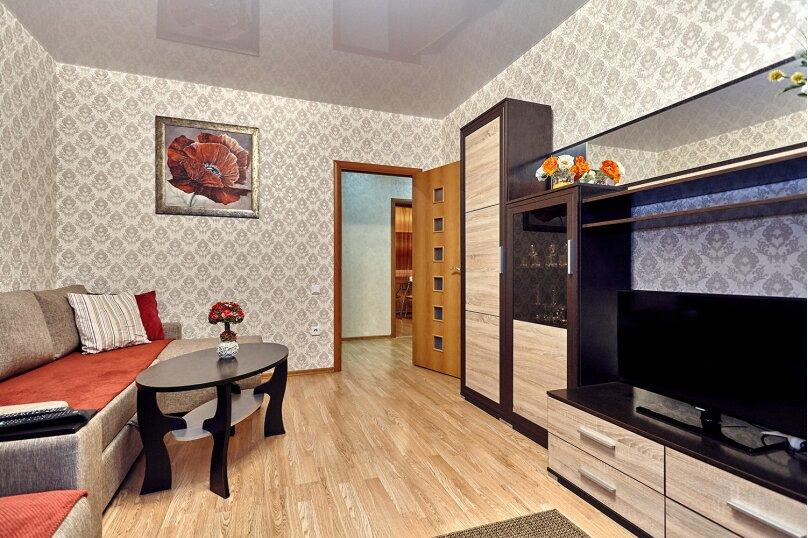2-комн. квартира, 64 кв.м. на 3 человека, улица Соколова, 86/1, Краснодар - Фотография 6