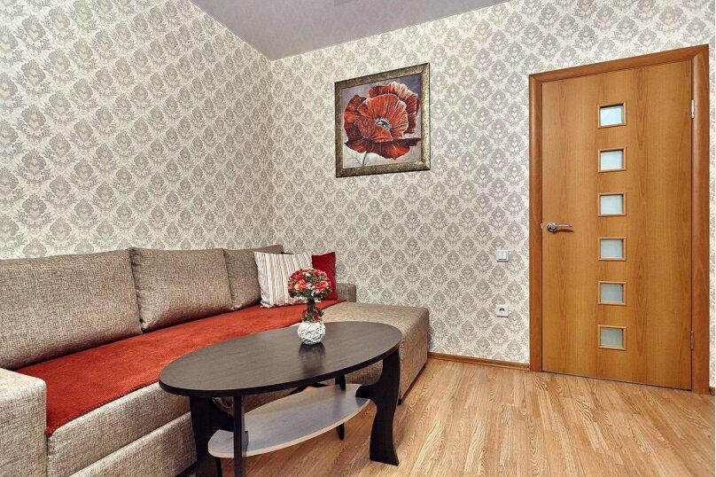 2-комн. квартира, 64 кв.м. на 3 человека, улица Соколова, 86/1, Краснодар - Фотография 7