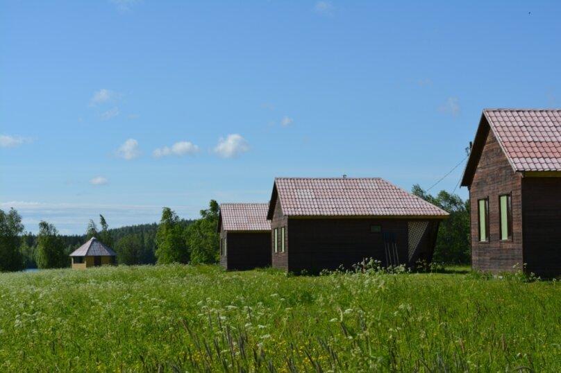 Дом на берегу озера в Карелии, 65 кв.м. на 4 человека, 2 спальни, деревня Кукшегоры, 1, Олонец - Фотография 20