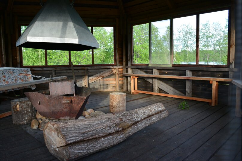 Дом на берегу озера в Карелии, 65 кв.м. на 4 человека, 2 спальни, деревня Кукшегоры, 1, Олонец - Фотография 8