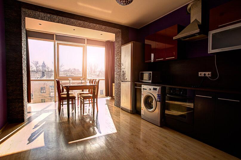 2-комн. квартира, 80 кв.м. на 4 человека, Студенческая улица, 12А, Воронеж - Фотография 1