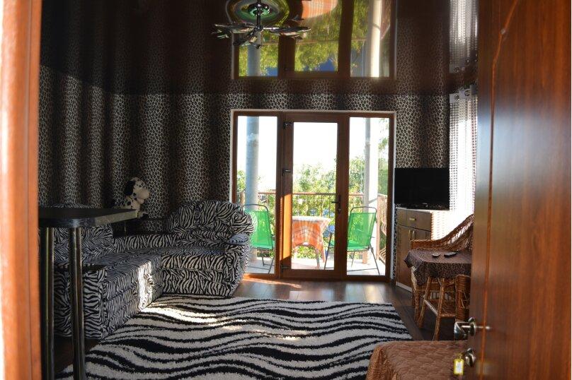 Новый трех комнатный дом вместимостью до 10человек, 150 кв.м. на 10 человек, 3 спальни, Кореизское шоссе, 12б, Мисхор - Фотография 9