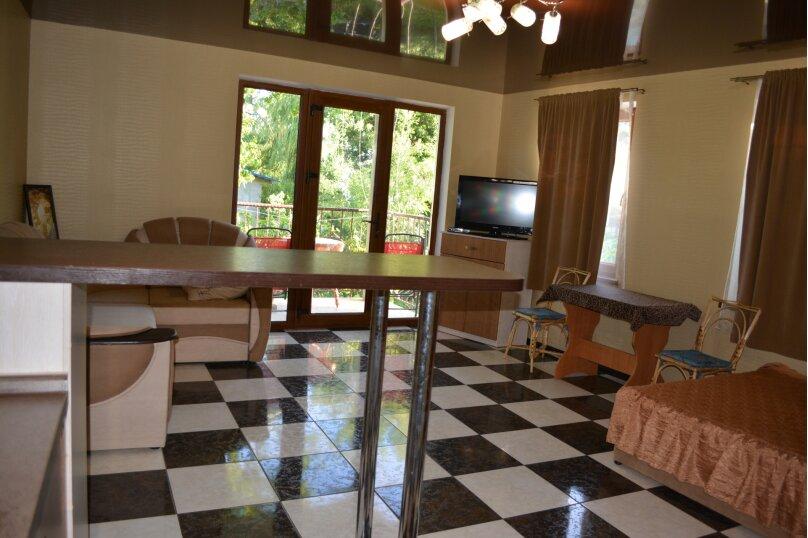 Новый трех комнатный дом вместимостью до 10человек, 150 кв.м. на 10 человек, 3 спальни, Кореизское шоссе, 12б, Мисхор - Фотография 13