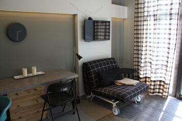 1-комн. квартира, 24 кв.м. на 3 человека, Приморская , Алупка - Фотография 1