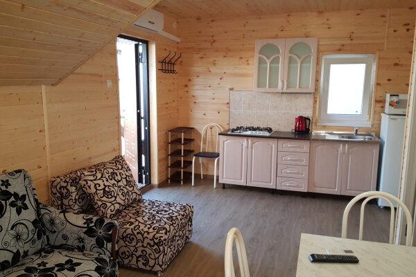 2 этаж дома под ключ, 36 кв.м. на 6 человек, 1 спальня, Лиманная улица, 12А, Витязево - Фотография 1