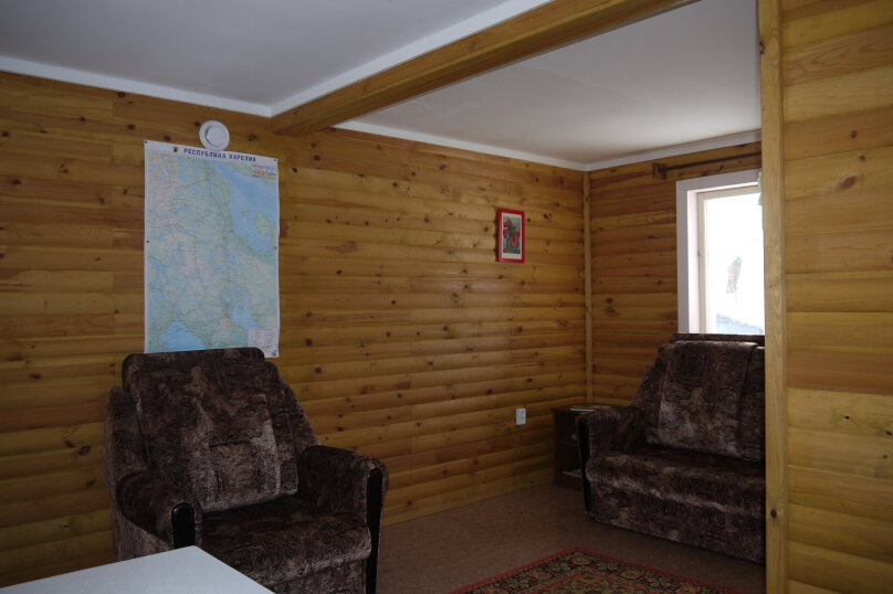 Домик на Заре, 50 кв.м. на 5 человек, 2 спальни, п. Заря, ул. Малиновая, 48, Кондопога - Фотография 13
