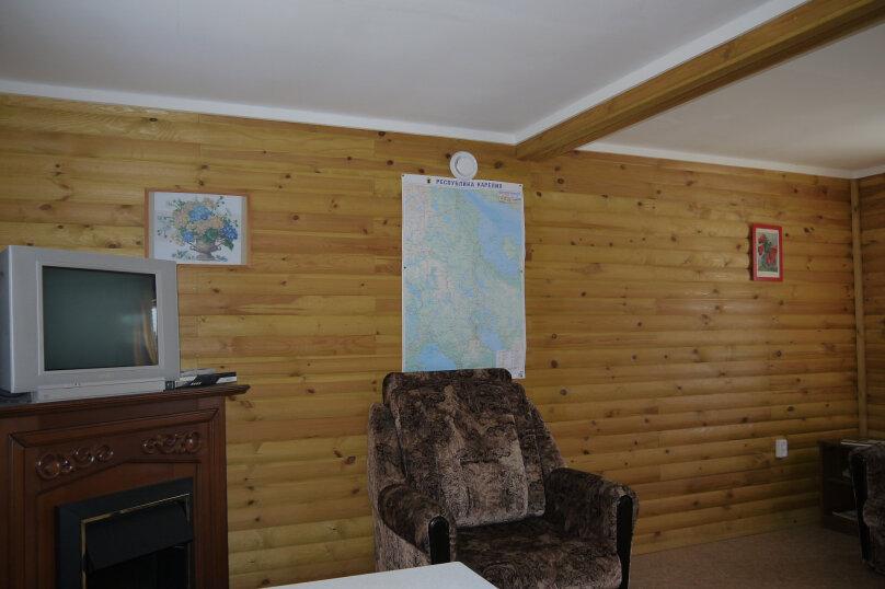 Домик на Заре, 50 кв.м. на 5 человек, 2 спальни, п. Заря, ул. Малиновая, 48, Кондопога - Фотография 14