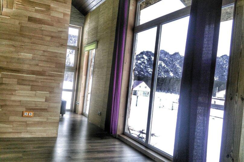 Дом - апартаменты с мезонином , 65 кв.м. на 4 человека, 1 спальня, Озёрная улица, 8, Аскат - Фотография 3