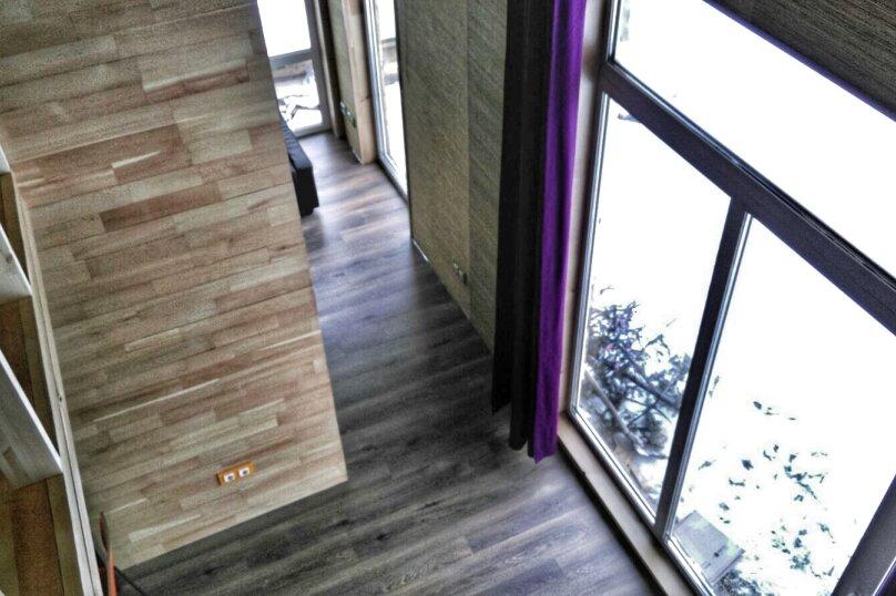 Дом - апартаменты с мезонином , 65 кв.м. на 4 человека, 1 спальня, Озёрная улица, 8, Аскат - Фотография 6