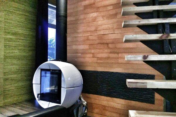 Дом - апартаменты с мезонином , 65 кв.м. на 4 человека, 1 спальня, Озёрная улица, 8, Аскат - Фотография 1