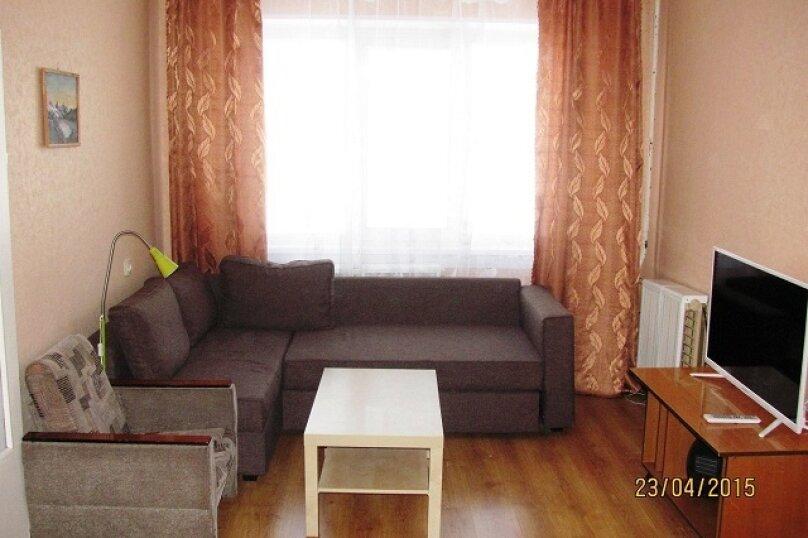 1-комн. квартира, 30 кв.м. на 4 человека, Олимпийская , 79, Кировск - Фотография 1