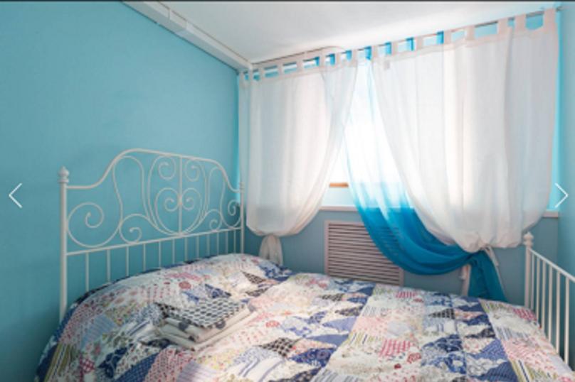 Двухместный номер с двуспальной кроватью с собственным душем и туалетом, улица Марата, 74, Санкт-Петербург - Фотография 1