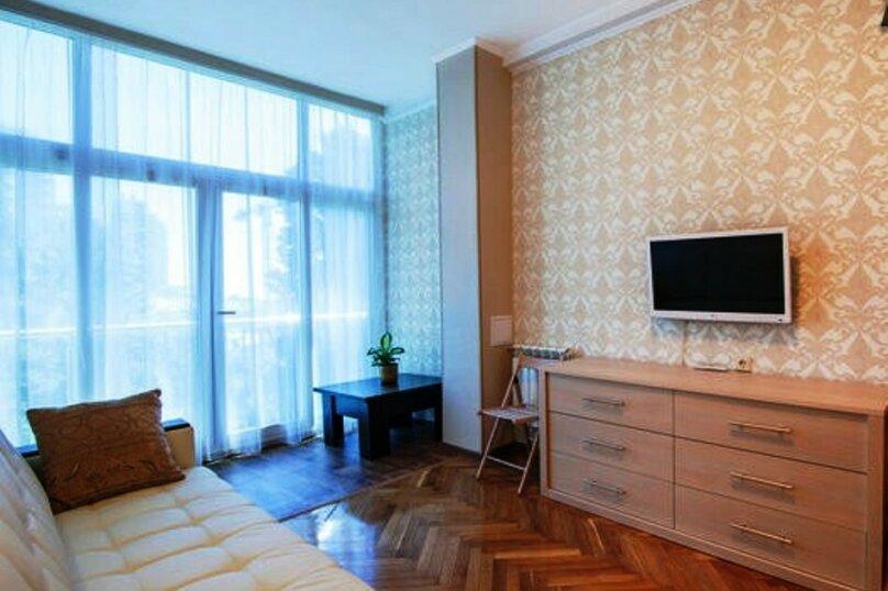 1-комн. квартира, 21 кв.м. на 3 человека, Курортный проспект, 75к1, Сочи - Фотография 2
