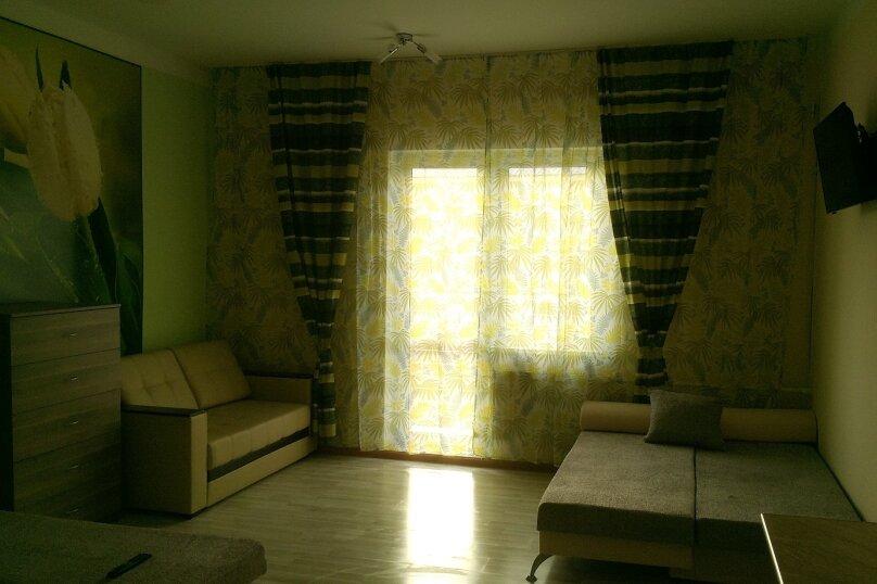 1-комн. квартира, 30 кв.м. на 6 человек, портовая, 14, Джубга - Фотография 2