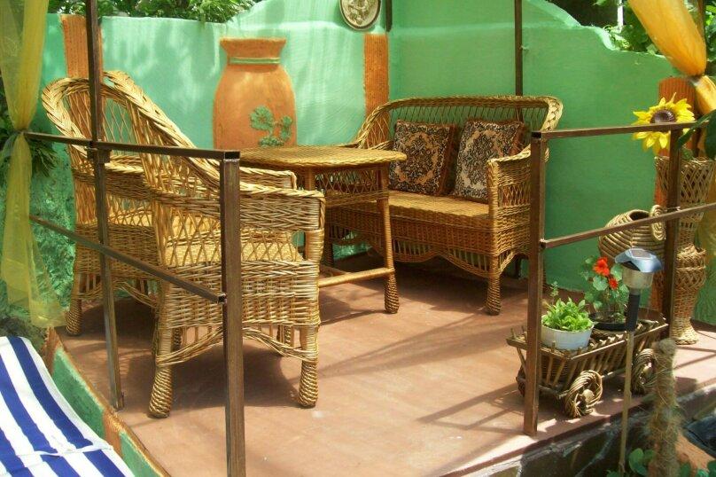 Домик с отдельным двориком, 40 кв.м. на 4 человека, 1 спальня, Артековская улица, 9, Гурзуф - Фотография 4