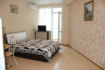 1-комн. квартира, 37 кв.м. на 3 человека, Ревкомовский переулок, 4, Алушта - Фотография 1