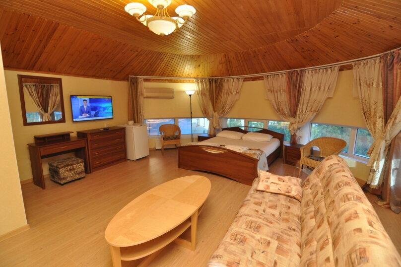 Двухместный номер-студия Делюкс с двухместной кроватью, , , Анапа - Фотография 1