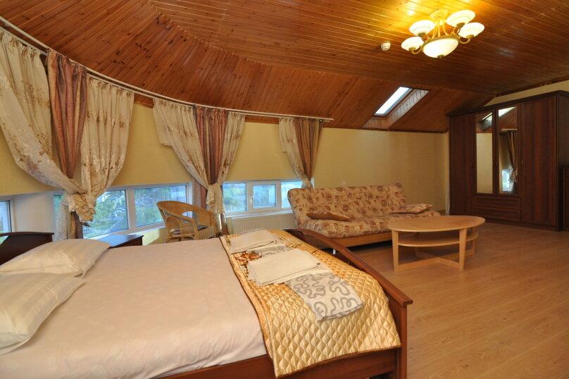 Двухместный номер-студия Делюкс с двухместной кроватью, , , Анапа - Фотография 2