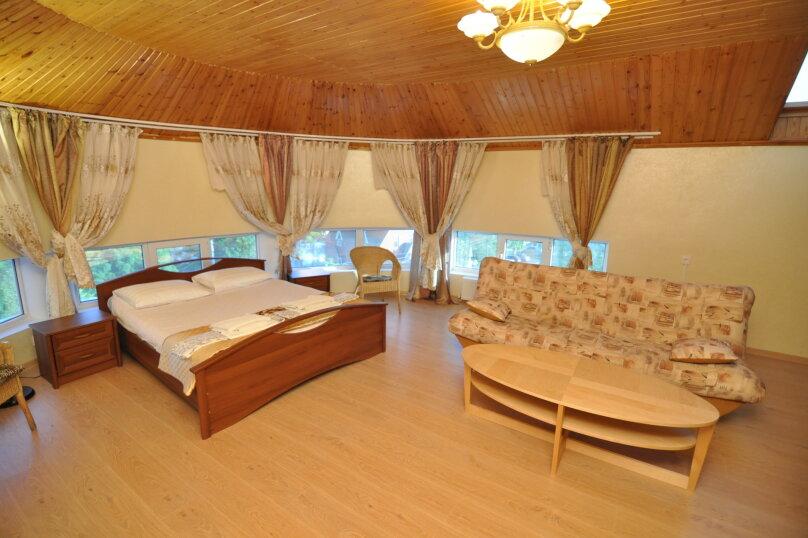 Двухместный номер-студия Делюкс с двухместной кроватью, , , Анапа - Фотография 3