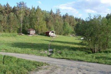 Небольшой домик с беседкой на берегу Ладожского озера, 12 кв.м. на 1 человек, 1 спальня, Первомайская улица, 1, Лахденпохья - Фотография 2