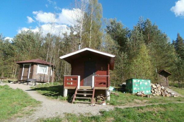 Небольшой домик с беседкой на берегу Ладожского озера, 12 кв.м. на 1 человек, 1 спальня, Первомайская улица, 1, Лахденпохья - Фотография 1