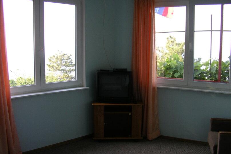 Гостевой домик  у моря Ч/С, 46 кв.м. на 4 человека, 2 спальни, Южнобережное шоссе, 36, Алупка - Фотография 4
